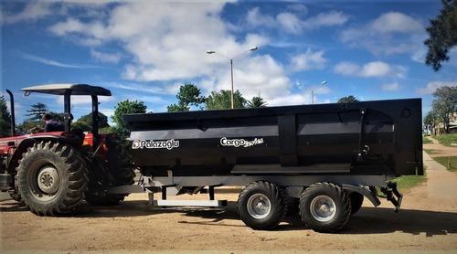 zorra palazoglu 12 toneladas con volcadora hidráulica