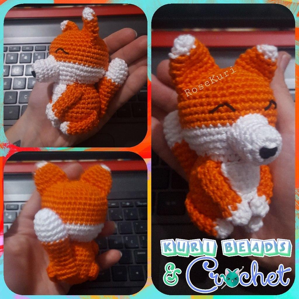 Crochet Animal Crochet Fox Felpa Animal de ganchillo de zorro ... | 1024x1024