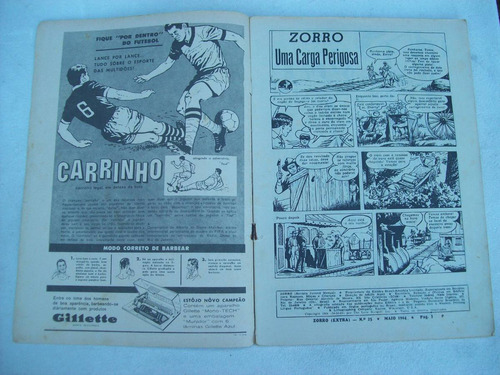 zorro ( extra ) nº 25 - maio de 1964 - ebal