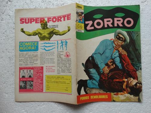zorro nº 34! 3ª série! ebal jun 1973!