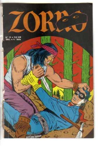 zorro no 16 - 4a serie - formatinho ebal - julho de 1978
