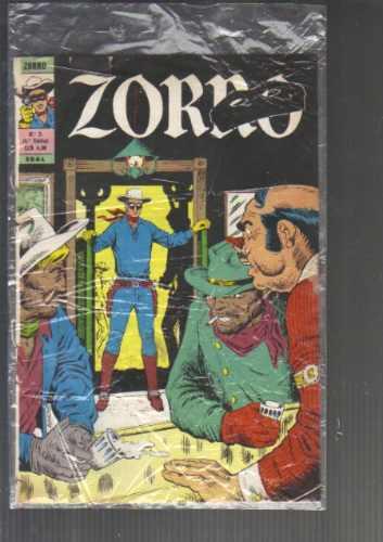 zorro no 3 - 4a serie - formatinho ebal - junho de 1977