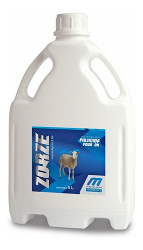 zorze piojicida - pour on para ovinos al 3.5% x 5 lts