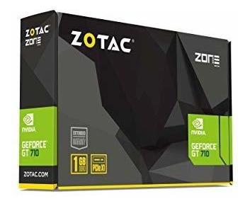 zotac geforce gt 710 zt-71302-20l - tarjeta grafica (2 gb dd