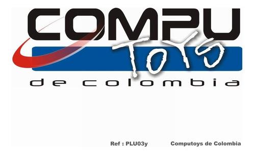 zplu03y unión hembra audio 3.5 stereo qplu03yq compu-toys
