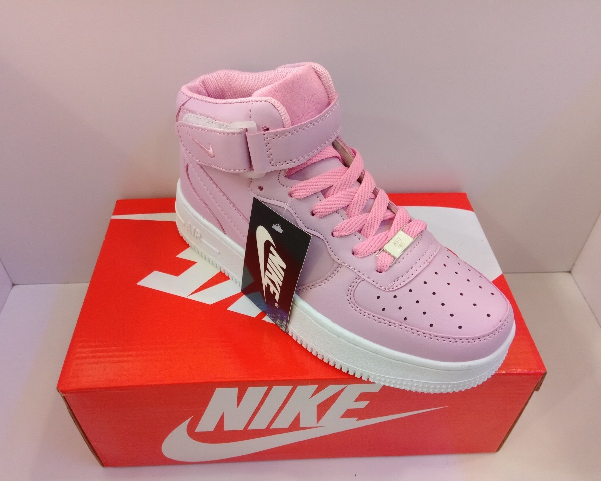 155593dbd77a8 Zpt Botas Nike Air Force. Tallas 35-40. Rosado. 2 Colores. - Bs ...