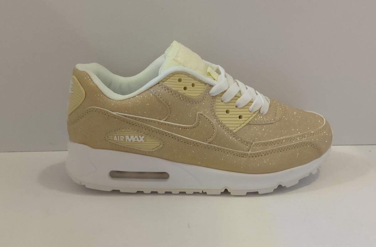 Zpt Nike Air Max 90. Tallas 36 40. Color Blanco.