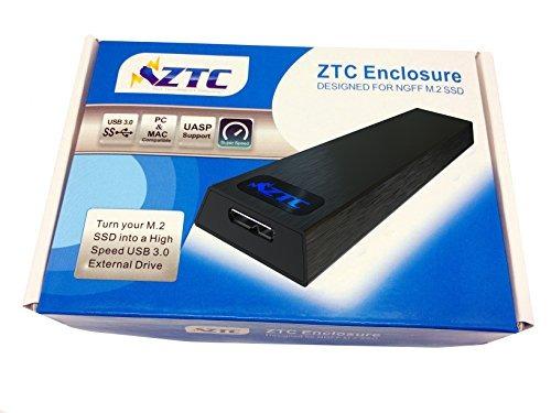 ztc thunder enclosure ngff m.2 ssd a usb 3.0 adapter. soport