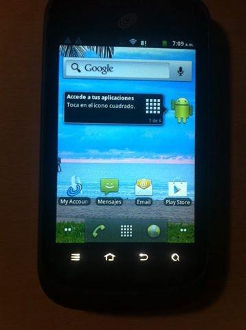 Zte 768g Android Tracfone Wireless No Esta Liberado Intacto - Bs  0,17