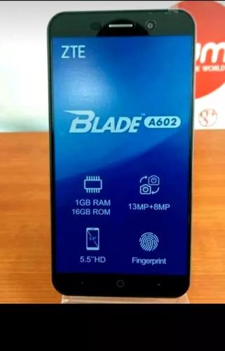 zte blade a602 4g lector de huella 16 gb oferta 110 v-e-rd-e