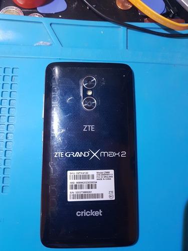 zte grand x max 2 liberado de compañia y protector tipo clip