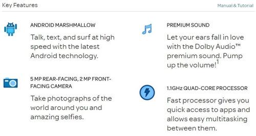 zte maven 2 android 6 4g lte liberado quad core 8gb remato