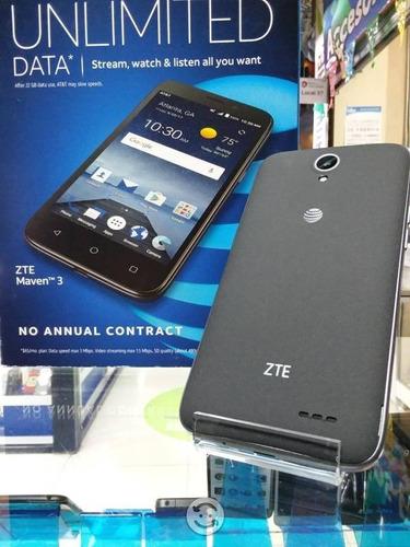 zte maven 3 4g lte android 6.0 1gb ram 8gb tienda fisica $