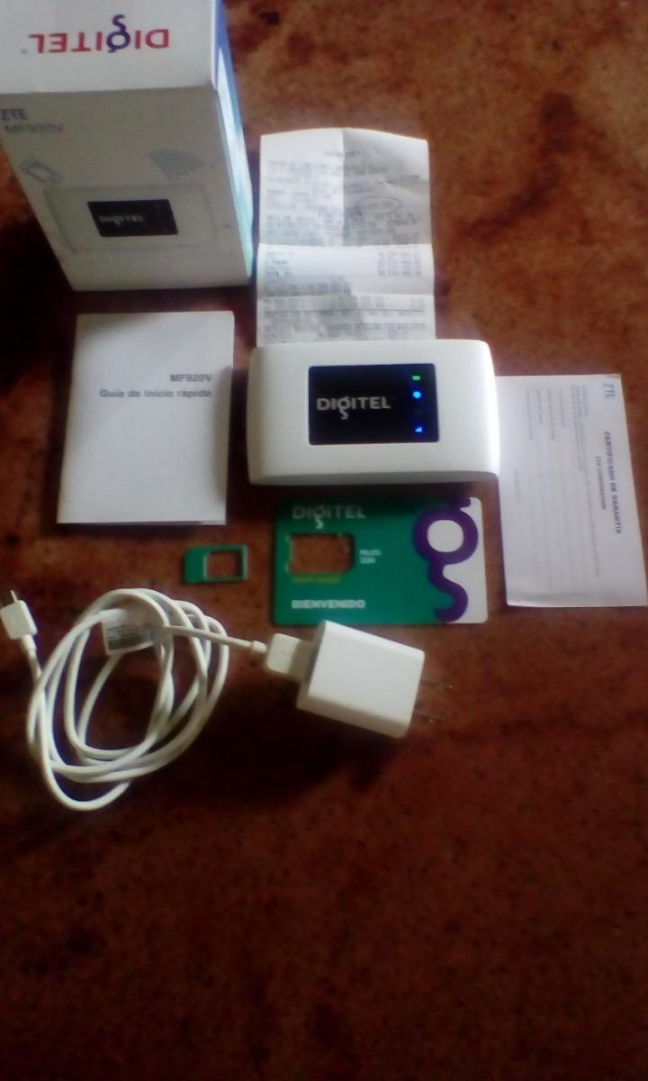 Zte Mf920 Nuevo  4g Con Digitel