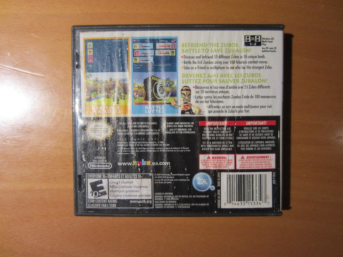 Zubo Juego Original Nintendo Ds Dsi Dsixl Compatible 3ds 400