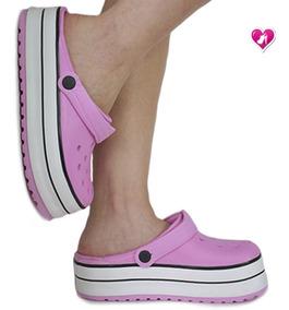 bastante agradable 7b3f4 0f064 Zueco De Goma Con Band Plataforma Mod Apos De Shoes Bayres