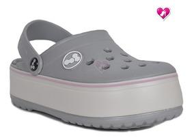 mejor servicio 5a81e c6439 Zueco De Goma Plataforma Moda Juvenil Harenna Shoes Bayres