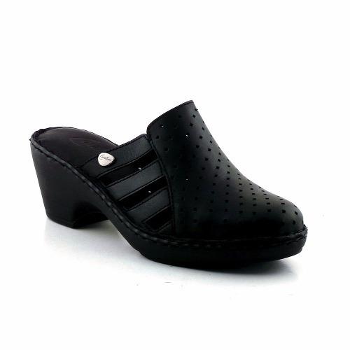 zueco mujer cavatini zapato goma