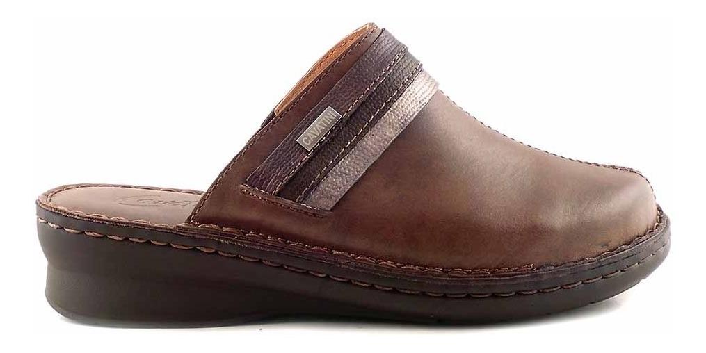 9abcd2fc2c4 Zueco Mujer Cuero Cavatini Goma Confort Zapato - Mcsu48025 - $ 3.399 ...