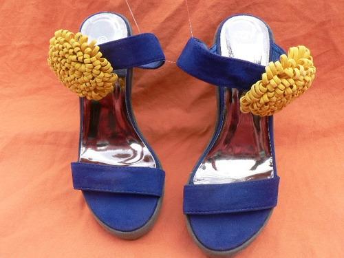 zueco sandalia importada  maker´s igual nuevo nº 39 713enani