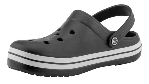 zuecos bamers airline negro