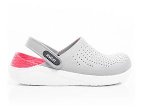 Crocs Estilo Ojota Marca Literide Zuecos Zapatos Kusei Mujer jLUMpSqzVG