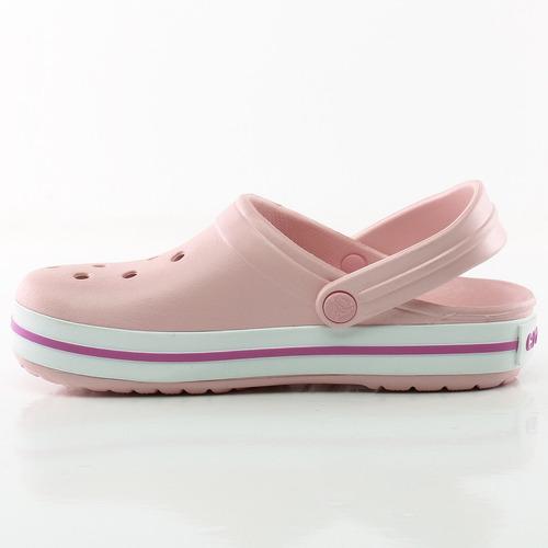 zuecos sandalias crocband pink crocs sport 78