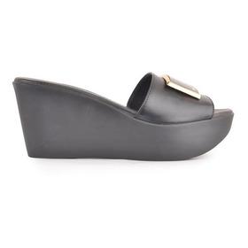Zuecos Zapatos Mule De Mujer Cuero Nin - Ferraro -