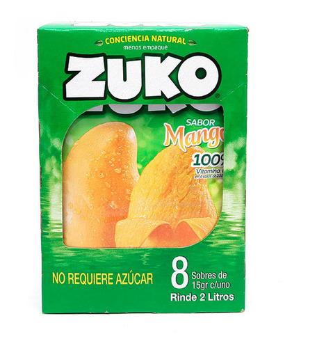 zuko sab agua mango con 8pz de 15 gr