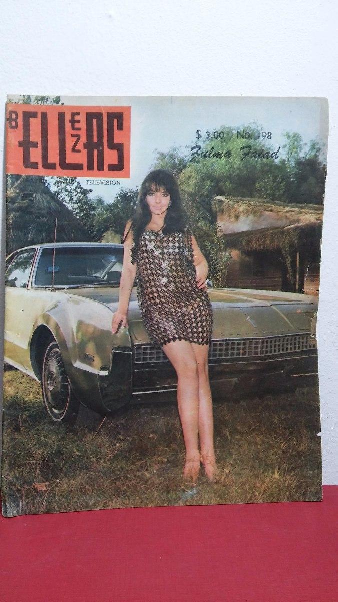 Zulma Faiad Revista Bellezas No 198 Agosto 1969 - $ 350.00 ...