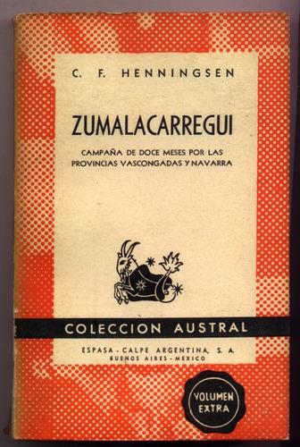 zumalacarregui. pcias. vascongadas y navarra. henningsen