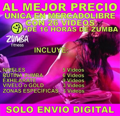 zumba fitness 26 videos bailoterapia en casa adelgazar