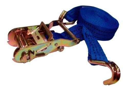zuncho cinta de amarre con crique traka traca azul sti motos
