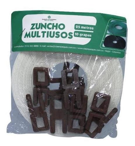 zuncho multiuso x25 mts color vario paquete x 12 unidades 45