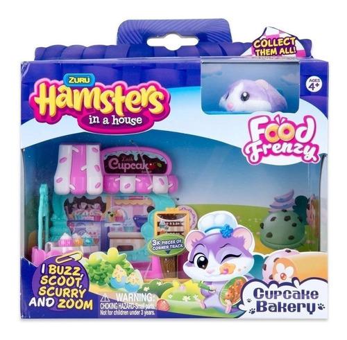 zuru hamsters in a house lojinha cupcake candide