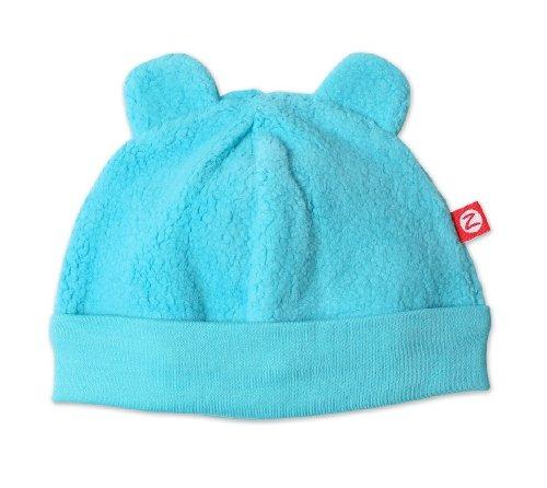 zutano infantil unisex-bebé fleece hat, piscina, 6m (0-6 me