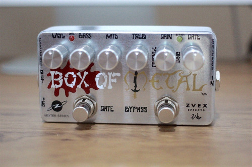 zvex effects vexter box of metal distortion