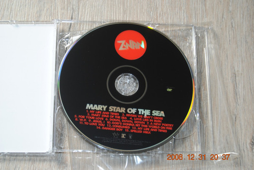 zwan mary star of the sea limited edition cd+dvd all sticker