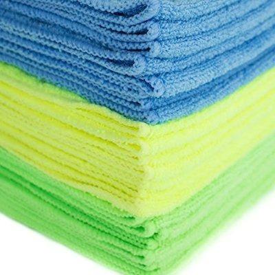 zwipes de microfibra paños de limpieza (24-pack)