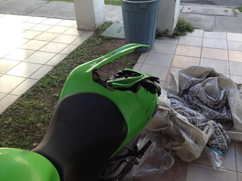 zx6r kawasaki 600cc 2008 accidentada