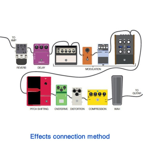 zyc effects cable classic series cable de instrumentos cable