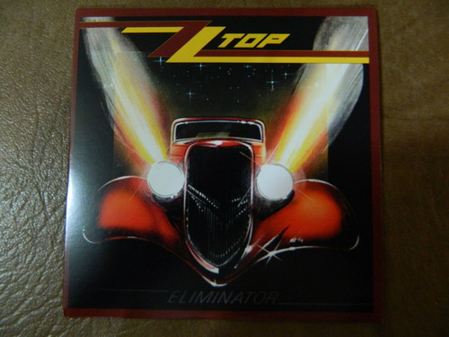 zz top - eliminator cd