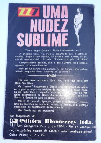zz7 - giselle a espiã nua que abalou paris - vol. 1 - 1964