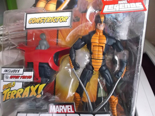 zzw constrictor x men avengers marvel legends terrax baf
