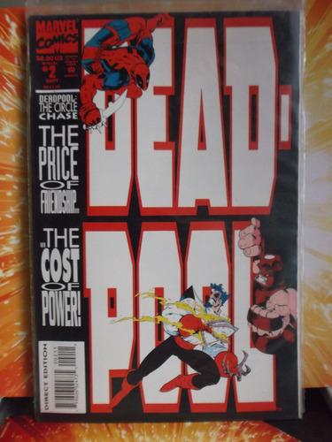 zzw deadpool miniserie en inglés  no avengers baf