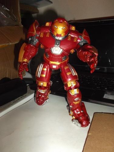 zzw iron man hulkbuster electrónico  avengers ultron no baf